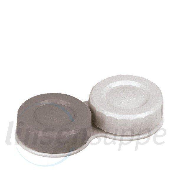 Flat-Case silber/weiß