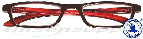 Tiffy Kunststoffbrille rot-rot