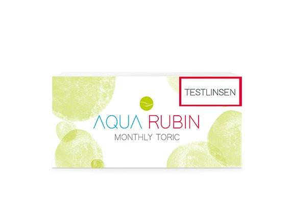 Aqua Rubin Toric - Monatslinse (1x1) TESTLINSE