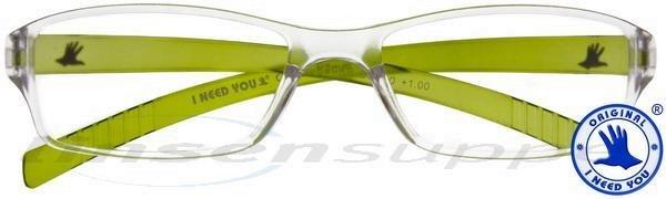 Oscar Kunststoffbrille grün
