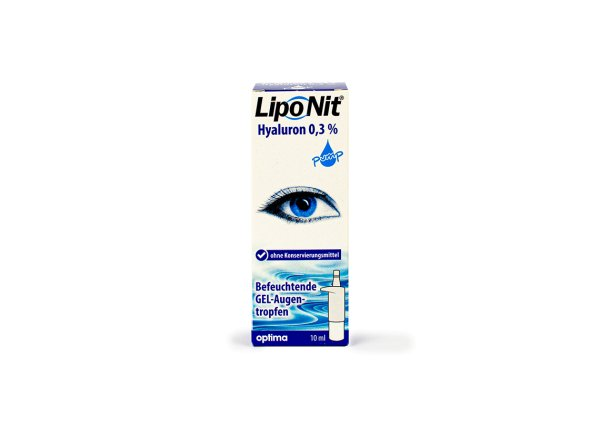 Lipo Nit GEL-Augentropfen 0,3% pump (10ml)