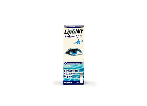 Lipo Nit GEL-Augentropfen 0,3% compact (10ml)