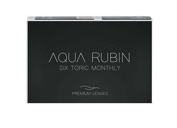 Aqua Rubin Premium - Six toric monthly (1x6)