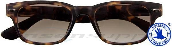 Woody Sun Kunststoff-Sonnenbrille havanna