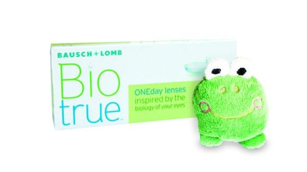 BioTrue ONEday (1x30) + Plüsch Frosch