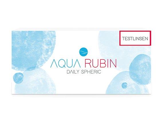 Aqua Rubin - Tageslinse (1x10) TESTLINSE