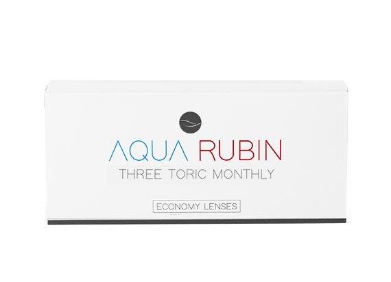Aqua Rubin Economy - Three toric monthly (1x3)