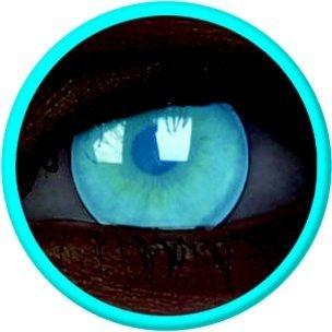 UV Glow Electric Blue (Jahreslinse) (1x2)