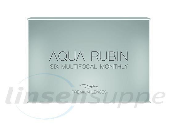 absolut stilvoll Original kaufen an vorderster Front der Zeit Aqua Rubin Premium - Six multifocal monthly - Monatslinse (6 Stk.)