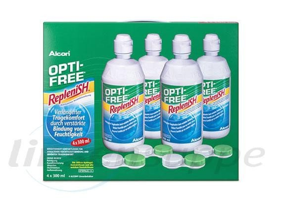 Opti-Free RepleniSH (4x 300ml)