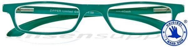 Zipper Limited Kunststoffbrille türkis