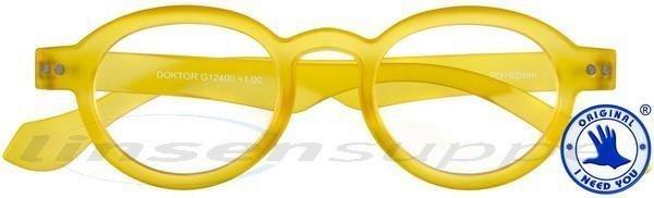 Doktor Limited Panto-Kunststoffbrille gelb