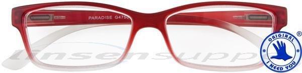 Paradise Kunststoffbrille rot