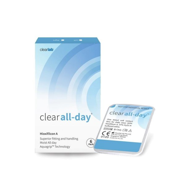 Clear all-day (1x6)