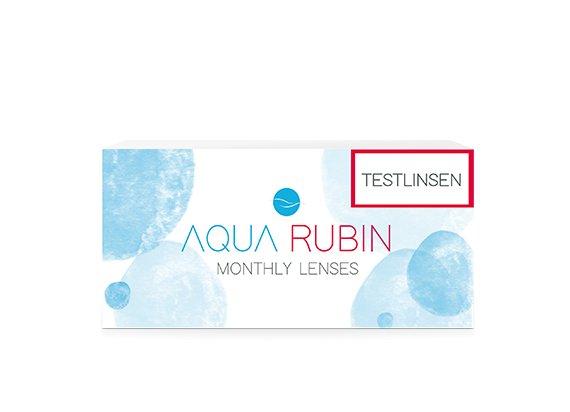 Aqua Rubin - Monatslinse (1x1) TESTLINSE