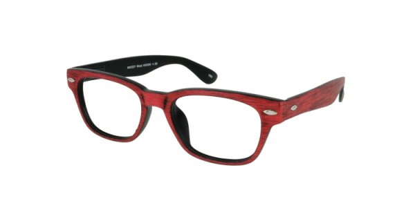 WOODY Wood - Retro-Lesebrille im Holzdesign