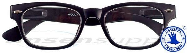 Woody Retro-Kunststoffbrille havanna