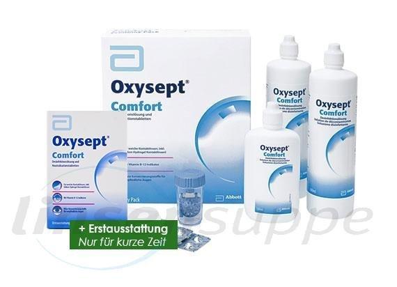 Oxysept Comfort Economy-Pack + Erstausstattung