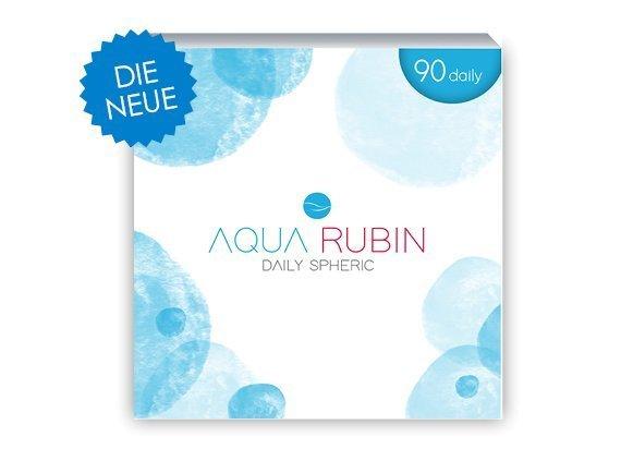 Aqua Rubin - Tageslinse (1x90)