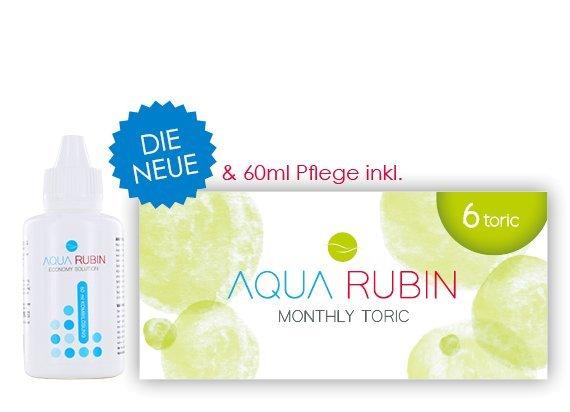 Aqua Rubin Toric - Monatslinse (1x6)