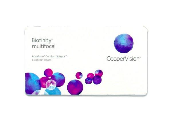 Biofinity Multifokal - N-Linse (1x6)