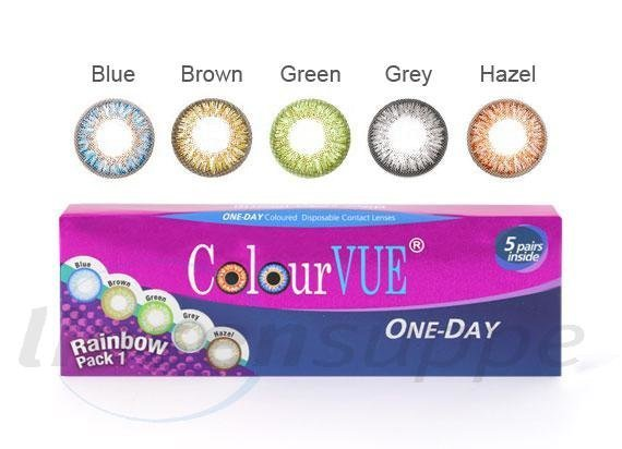 TruBlends One-Day Rainbow Pack 1 (Tageslinse) (1x10)