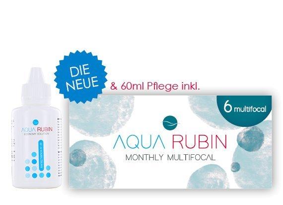 Aqua Rubin Multifocal (1x6)