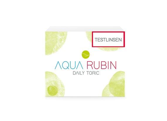 Aqua Rubin Toric - Tageslinse (1x4) TESTLINSE