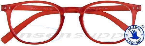 Junior Panto-Kunststoffbrille rot