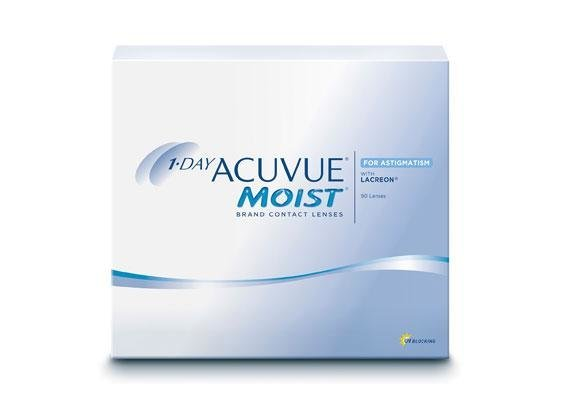 1-Day Acuvue Moist for Astigmatism (1x90)