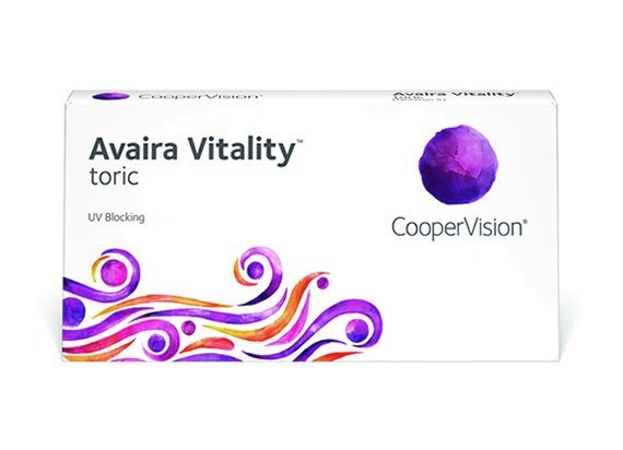 Avaira Vitality toric - vorher Avaira toric (1x6)