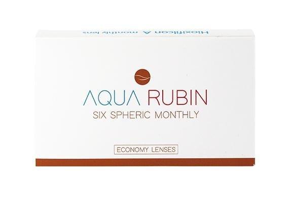 Aqua Rubin Economy - Six spheric monthly (1x6)