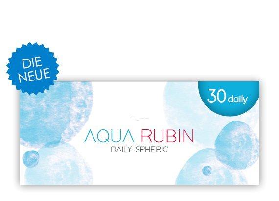 Aqua Rubin - Tageslinse (1x30)