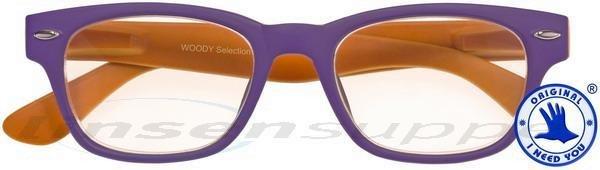 Woody Sun Kunststoff-Sonnenbrille rot