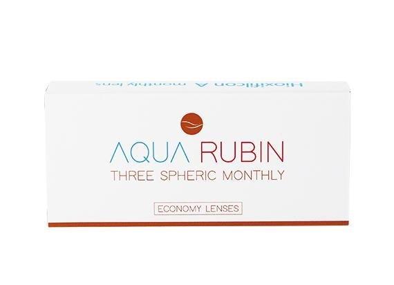 Aqua Rubin Economy - Three spheric monthly (1x3)