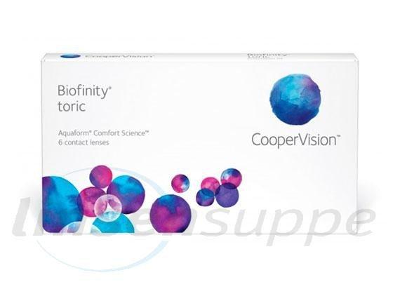 Biofinity Toric (6 Stk.)