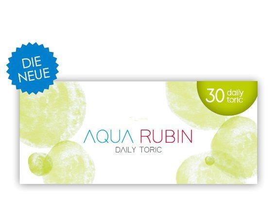 Aqua Rubin Toric - Tageslinse (1x30)