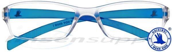 Oscar Kunststoffbrille blau