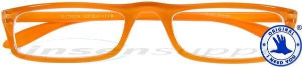 Florida Kunststoff-Halbbrille mandarin