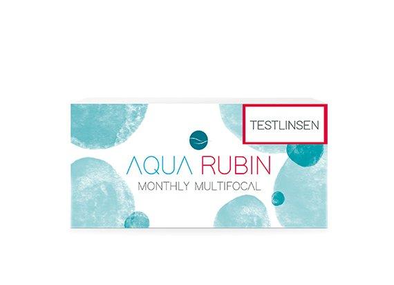 Aqua Rubin Multifocal - Monatslinse (1x1) TESTLINSE
