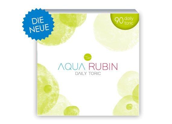 Aqua Rubin Toric - Tageslinse (1x90)