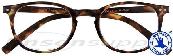 Junior Panto-Kunststoffbrille havanna