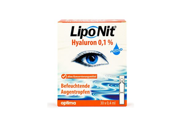 Lipo Nit Augentropfen 0,1% mono (30x 0,4ml)