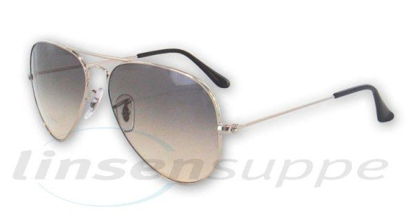 Ray-Ban RB 3025 Aviator 003/32 55 silver